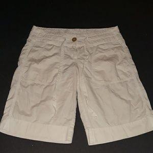 Zinc white striped shirts with pockets